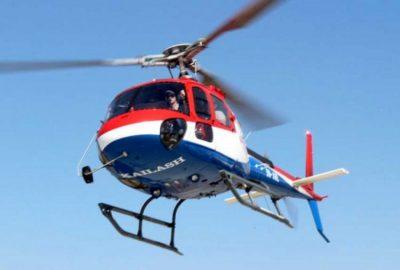 उडिरहेको हेलिकोप्टरबाट एकाएक जस्तापाता खसेपछि स्थानीय त्रसित, कम्पनी माैन