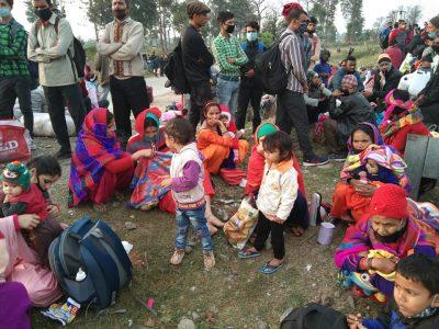 भारतमा रेल सेवा सञ्चालनमा आएसँगै स्वदेश भित्रिनेको चाप बढ्यो, तर क्वारेन्टिन छैन