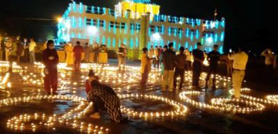 आज २५६५ औँ बुद्ध जयन्ती, लुम्बिनीमा दीप प्रज्वलन गरिँदै